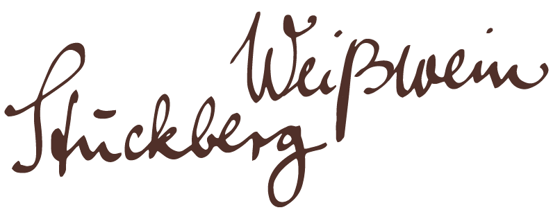Stückberg - Weißwein Flasche