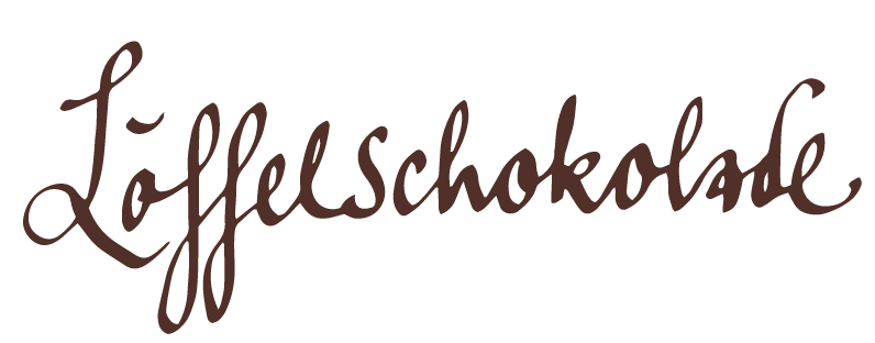 Löffelschokolade - Mandelnougat & Walderdbeere