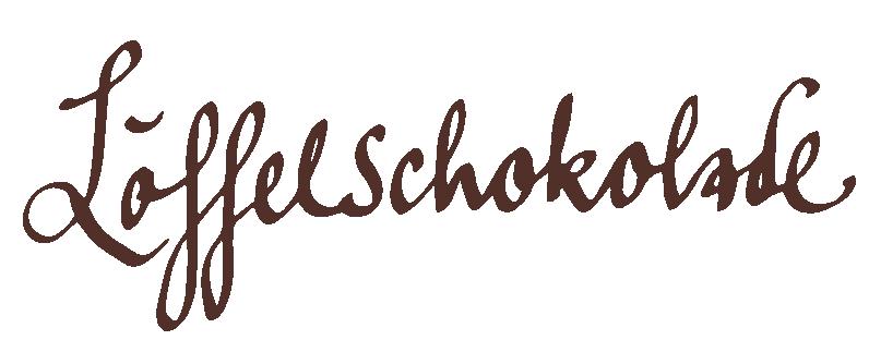 Löffelschokolade - Heller Nougat & Heidelbeere
