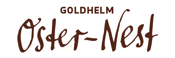 Goldhelm Oster-Kinder-Nest