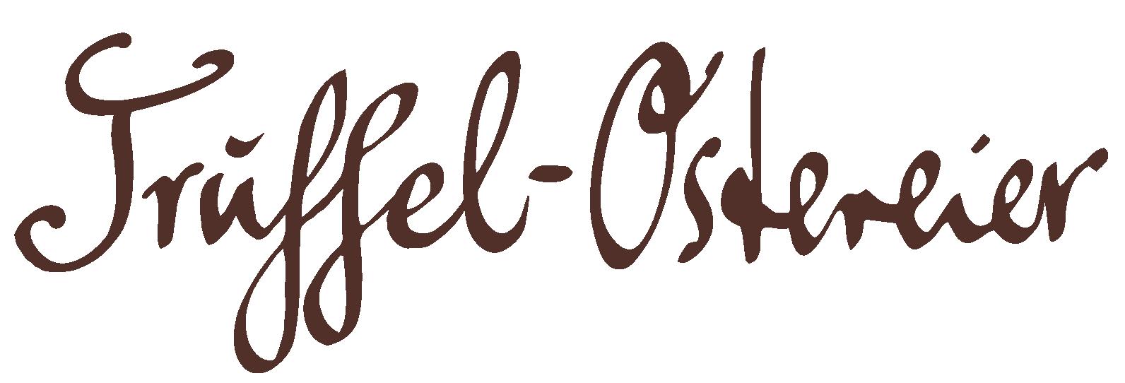 Trüffel-Ostereier Haselnussnougat