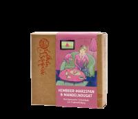 Canache - Himbeer-Marzipan & Mandelnougat
