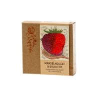Canache - Mandelnougat & Erdbeere